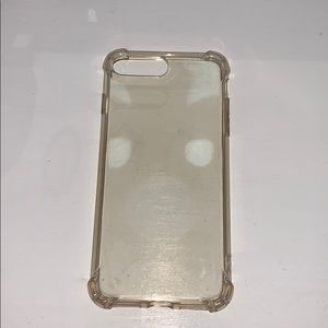 clear iphone 7+ case